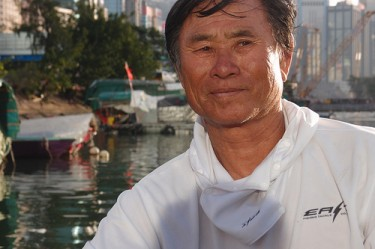 Yiu Gor still spends most of his time at Causeway Bay Typhoon Shelter. Urban Diary. Permission to use.