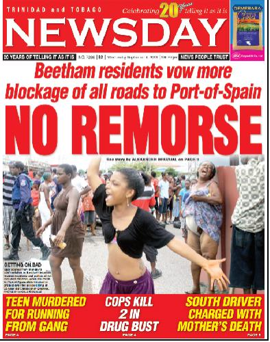 Newsday Cover