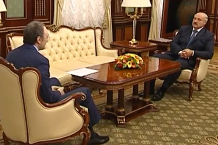 Kerimov meets with Lukashenko in March 2013