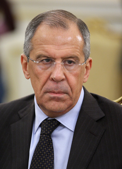 Russia's Foreign Minister Sergey Lavrov. Wikimedia Commons, CC 3.0.