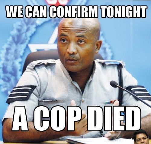 Meme about the COP's performance in Local Government Elections, created by Hayden Margerum
