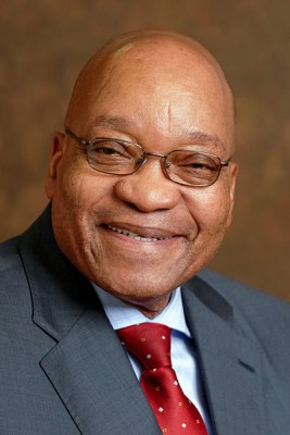 Jacob Zuma, the head of ANC and South Africa's president. Photo released under Creative Commons by Wikipedia user Dewet/GCIS.