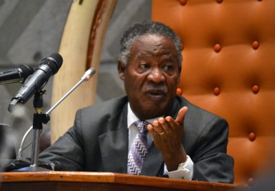 President Michael Sata addressing parliament. Picture used with permission from Lusaka Times.