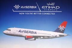 Official promotional photo of Etihad-JAT (Air Serbia) partnership; public domain image.