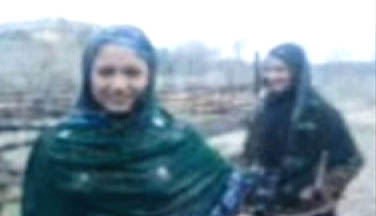 Screenshot of the alleged mobile video that got the two sisters killed from a YouTube Video uploaded by NewsMedia24.