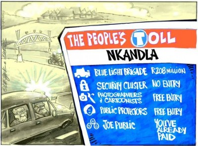 A cartoon shared on Africartoons Facebook page.