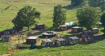 Aerial view of Emoya's fake slum. Photo source: http://www.emoya.co.za/