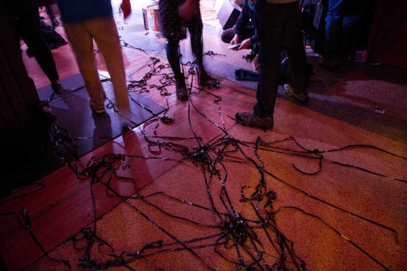 Tape remnants at Maus Hábitos. Photo by Luis Barbosa for Future Places.