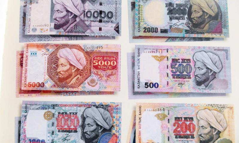 Kazakhstani tenge, the 1993 series.
