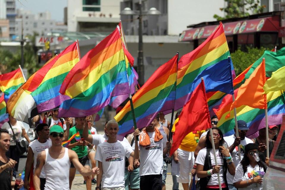 Marcha pro derechos LGBT en Puerto Rico. Tomado de la página de Facebook LGBT Puerto Rico.