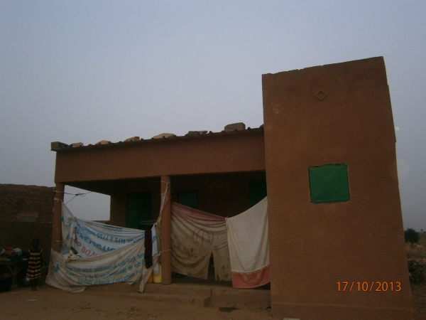 Photo of orphanage in rural Niger taken by Alher