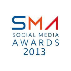 Social Media Awards 2013 banner.