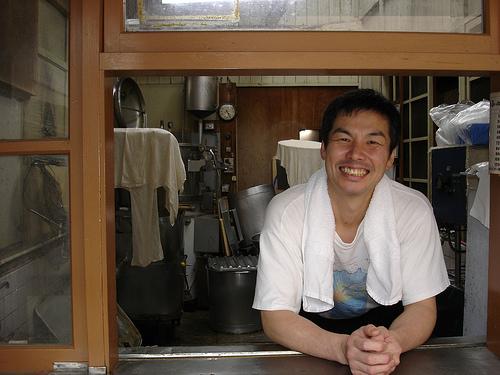 tofu store owner