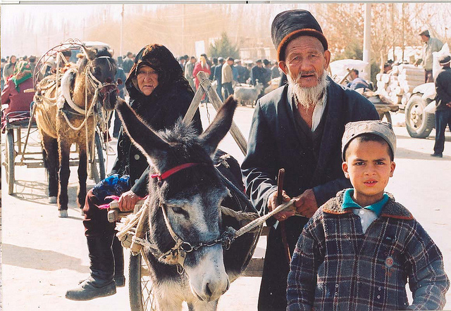 Please don't put terrorist label on Uyghur people. Image from Flickr user @Todenhoff under CC: AT-SA