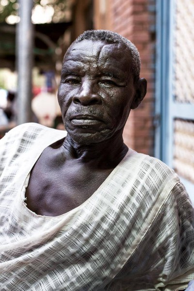 Amm Saeed from the Nuba Mountains -Seen next to The French Cultural Centre - Khartoum Taken from the Humans of Khartoum page