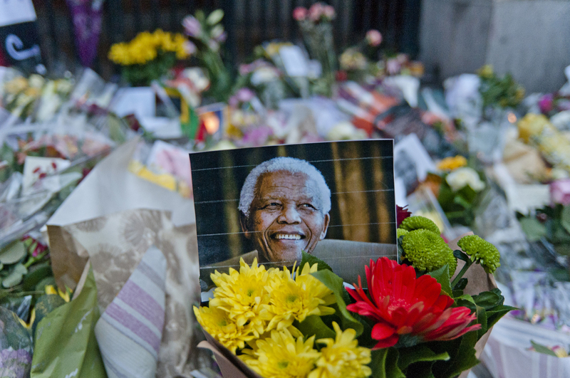 Nelson Mandela is remembered in London