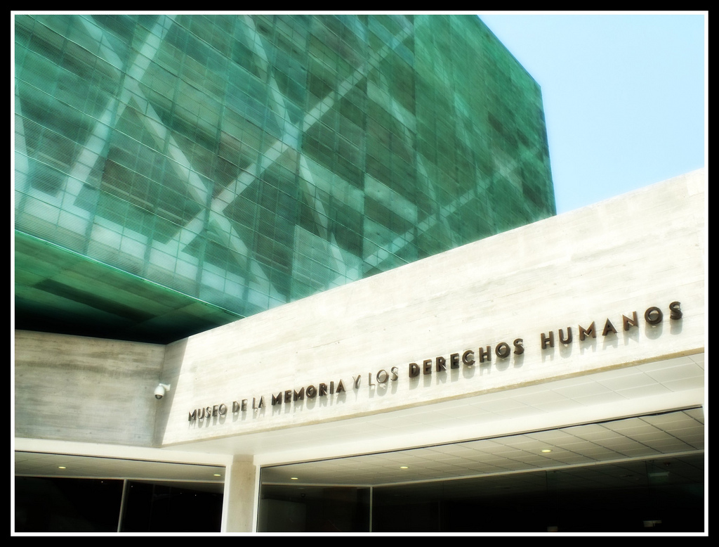 Museum of Memory and Human Rights. Photo by Giovanni A. Pérez on Flickr, under a Creative Commons license (CC BY-NC 2.0)