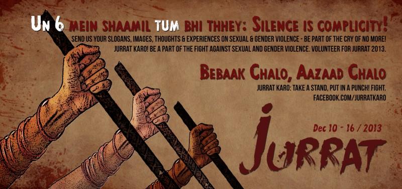 Jurrat wants Delhiites to reclaim the streets of Delhi.
