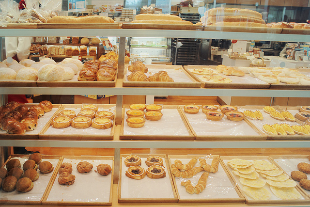 Image of bakery in Japan