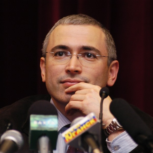 Mikhail Khodorkovsky - Russia's most famous prisoner. Photo CC2.0 Wikicommons