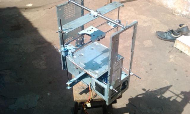 The W.Afate 3D Printer made in Togo via ulule.com