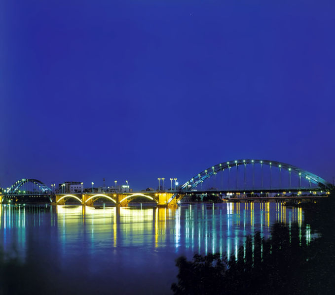 Ahwaz bridge source: http://commons.wikimedia.org/