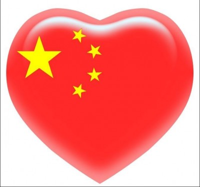 A popular icon used by Chinese netizens as profile pictures to express their patriot feelings.