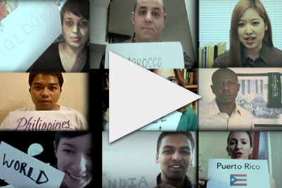 Watch the video: We Are Global Voices!