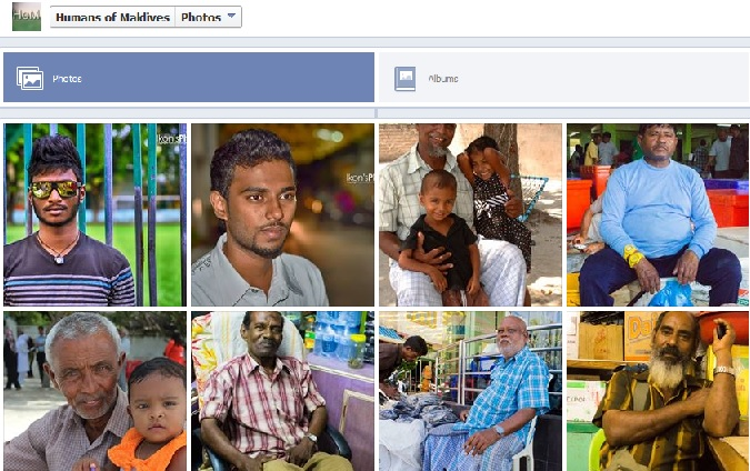 Screenshot from Humans of Maldives Facebook page
