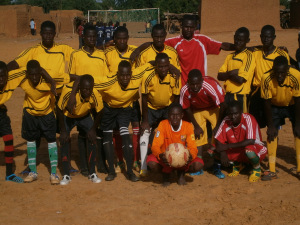 Football tournament organised in the region of Tahoua, Niger. Republished with permission from Mapping for Niger blog