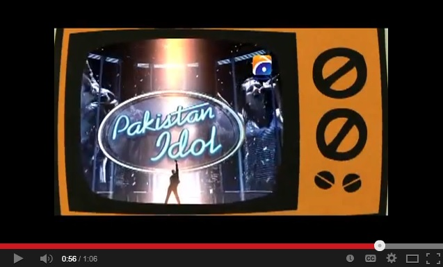 Screenshot of Pakistan Idol