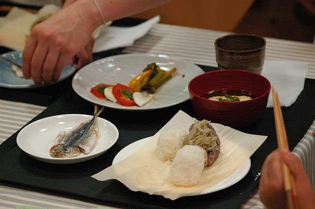 Image of Japanese cuisine taken by flickr user Kei Kondo (CC BY-NC-SA 2.0)