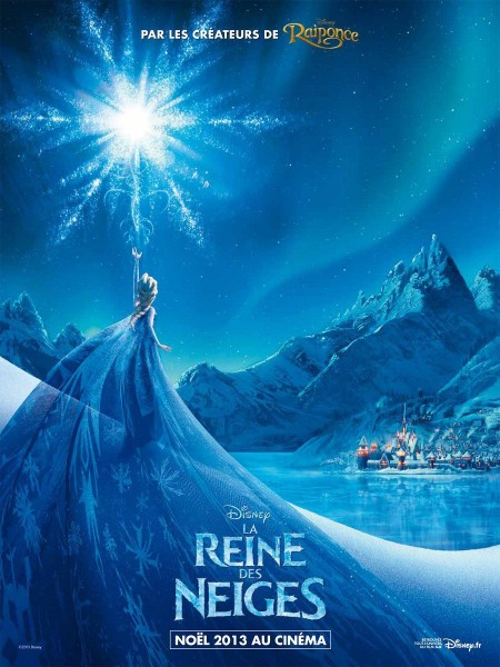 French Poster Image of Movie 'Frozen'. Fair Use Image
