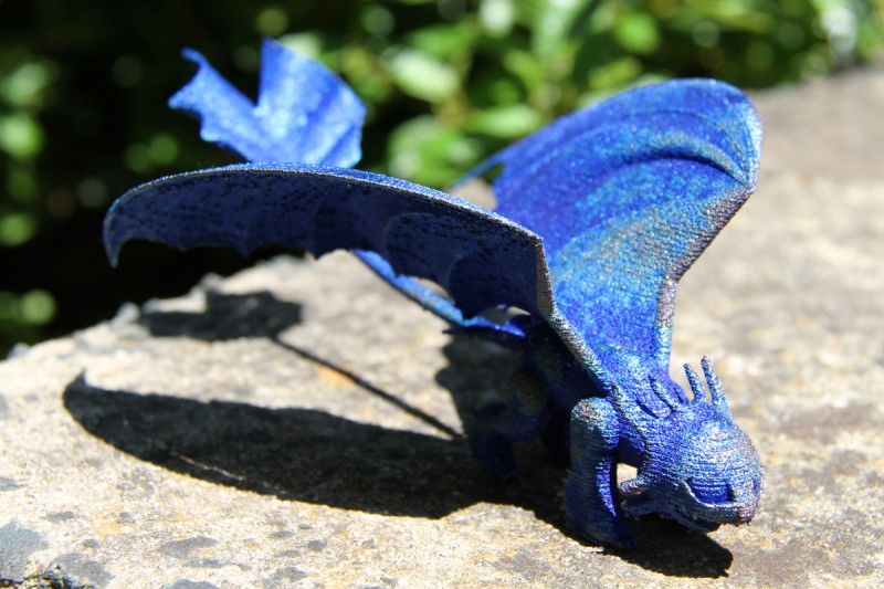 3Dドラゴン(画像は CSIRO 公式フェイスブックページより)