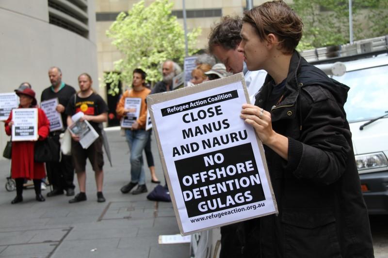Sydney Asylum Seeker Protest