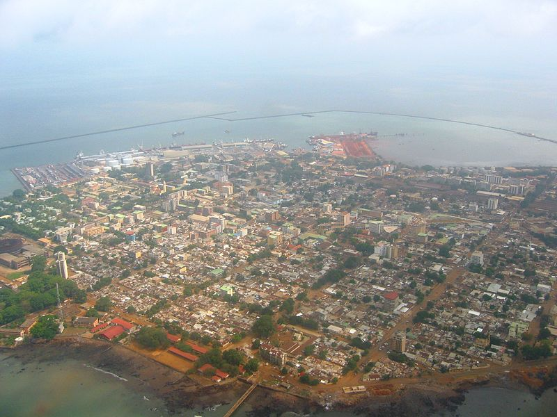 Conakry from above via wikipedia CC-license-BY