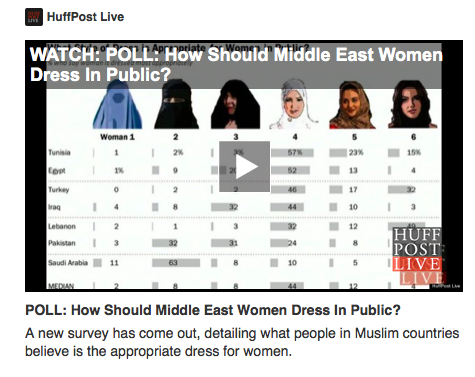 How should Middle Eastern women dress? The way they want