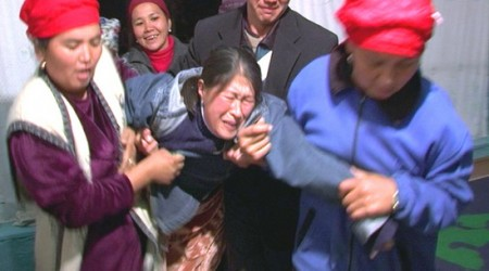 Screenshot from video, 'Bride Kidnapping in Kyrgyzstan', uploaded on January 17, 2012, by YouTube user Vice.