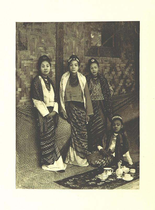 burma women