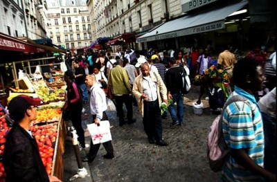 Market in Chateau-Rouge, Paris by Zanbard on Flickr via CC-BY-NC