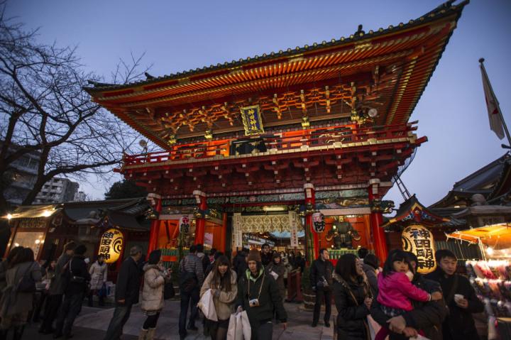 Image of Kanda Myojin shrine in Tokyo by blogger Tokyobling.