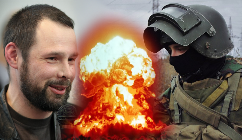 Anti-establishment  journalist Kungurov (left) vs. special forces blogger hardingush (right). Image remixed by author.