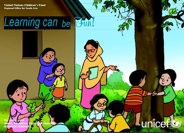 Screenshot from the cover of Meena Comic Book. Courtesy Unicef