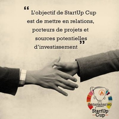 """The objective of the Start Up Cup is to connect founders with business investors and VCs."" on the Facebook Page of the event"