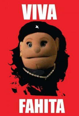 Abla Fahita portrayed as a revolutionary Che Guevara -  via @khlud_hafeez