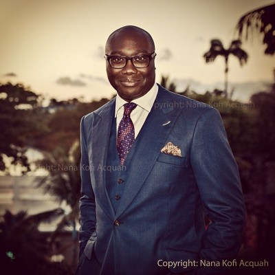 Photo by BloggingGhana member Nana Kofi Acquah on Komla Dumor's 41st birthday. Used with permission.
