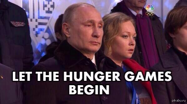 President Putin at the Sochi Olympics opening ceremony. Anonymous image found online.