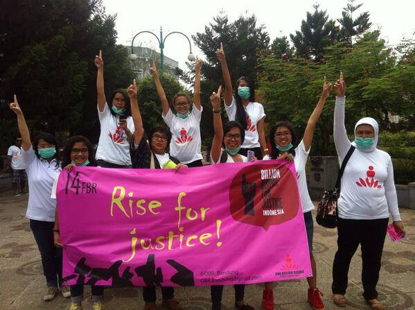 'Rise for Justice' in Indonesia