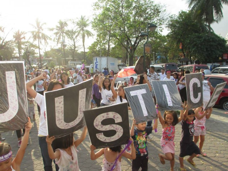 'Justice' is the theme of this year's 'One Billion Rising'