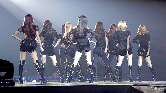 K-pop girl group SNSD